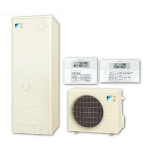【フルオート用リモコンセット】ダイキン ネオキュート 320L耐塩害仕様 フルオートタイプ 角型HQR32PFVE + BRC065A1