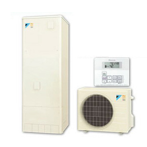 【給湯専用リモコンセット】ダイキン ネオキュート 320L耐塩害仕様 給湯専用タイプ 角型HQR32PVE + BRC065A31