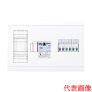 日東工業 ホーム分電盤HPB形ホーム分電盤 ドアなしリミッタスペース付横一列タイプ(単相3線式) 露出型 主幹3P30A 分岐4+2HSB13E53-42