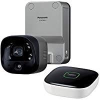 パナソニック Panasonic ホームネットワークシステムワイヤレス 屋外バッテリーカメラキットKX-HC300SK-H