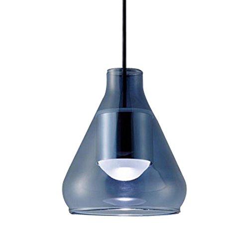パナソニック Panasonic 照明器具LEDペンダントライト 電球色 美ルックガラスセードタイプ ブルー(円錐型) 拡散タイプ 60形電球相当LGB10424LE1