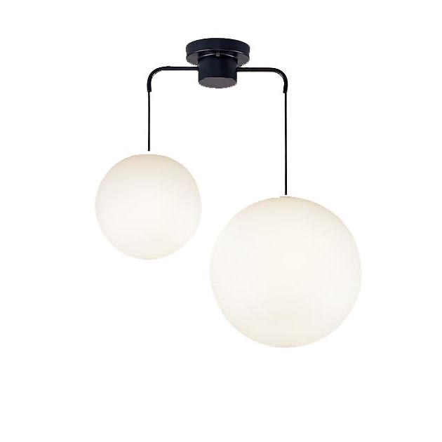 パナソニック Panasonic 照明器具LEDシャンデリア 電球色 直付吊下型MODIFY スフィア型 M・Lサイズ 60形電球3灯相当LGB19221BZ
