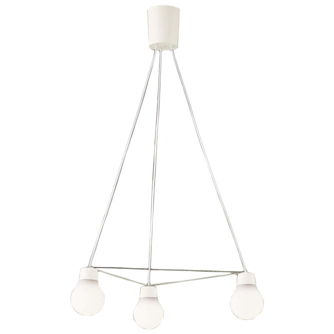 パナソニック Panasonic 照明器具LAMP DESIGNシリーズ LEDペンダントライト 温白色プラスチックセードタイプ 拡散タイプ引掛シーリング方式 白熱電球60形3灯器具相当LGB19329WCE1