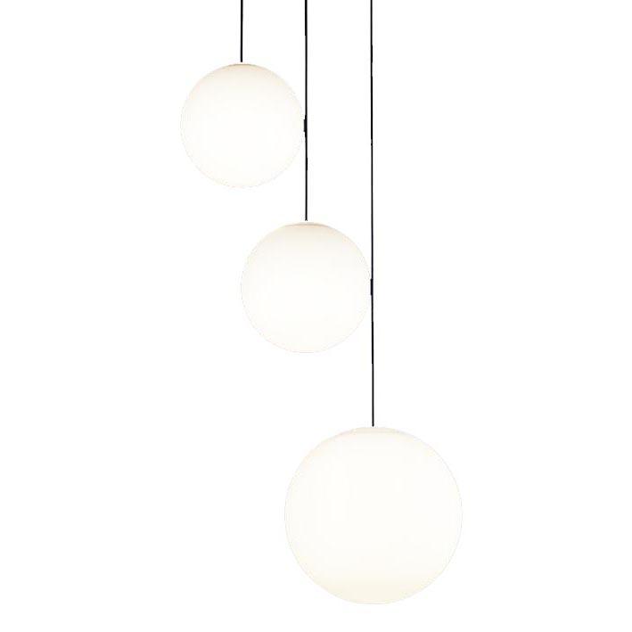 パナソニック Panasonic 照明器具吹き抜け用LEDシャンデリア 電球色 直付吊下型MODIFY スフィア型 M・M・Lサイズ 60形電球4灯相当LGB19461BZ【~6畳】
