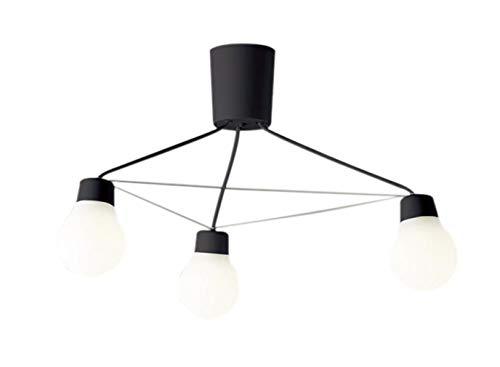 LGB57328BCE1LEDシャンデリア 電球色 吊下げ 天井照明LAMP DESIGNシリーズ 電気工事不要 白熱電球60形3灯器具相当Panasonic 照明器具 居間・リビング向け