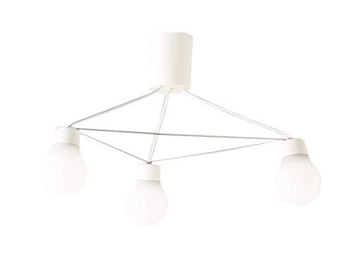 パナソニック Panasonic 照明器具LAMP DESIGNシリーズ LEDシャンデリア 温白色 吊下型拡散タイプ 引掛シーリング方式 白熱電球60形3灯器具相当LGB57329WCE1