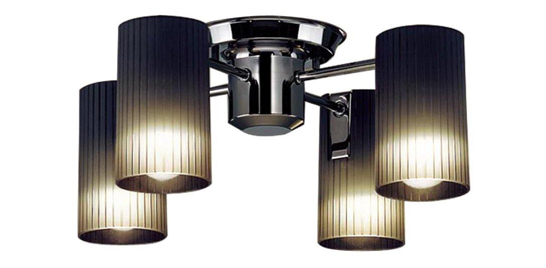 パナソニック Panasonic 照明器具LEDシャンデリア 電球色 40形電球4灯相当LGB57451K