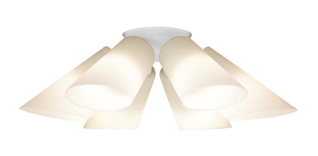 パナソニック Panasonic 照明器具LEDシャンデリア 電球色 40形電球6灯相当LGB57601K【~6畳】