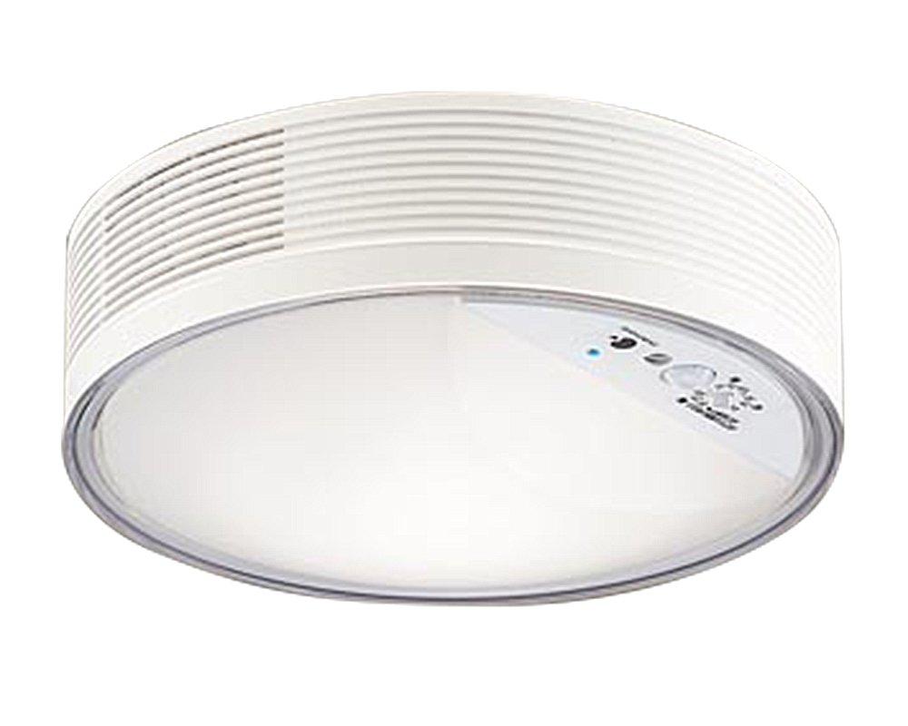 パナソニック Panasonic 照明器具「ナノイー」搭載 LEDシーリングライト 温白色 拡散タイプトイレ用・白熱電球60形1灯器具相当 FreePa ON/OFF型 明るさセンサ付LGBC55004LE1