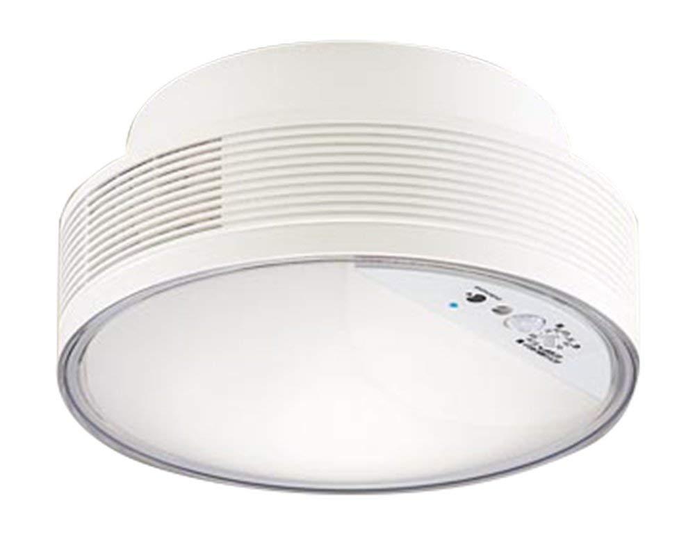 パナソニック Panasonic 照明器具「ナノイー」搭載 LEDシーリングライト 温白色 拡散タイプトイレ用・白熱電球60形1灯器具相当 FreePa ON/OFF型 明るさセンサ付LGBC55104LE1