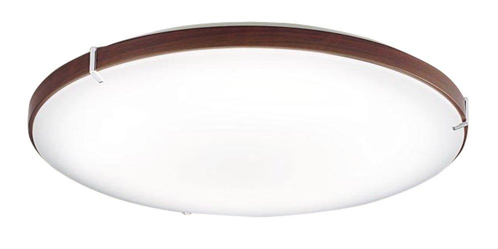 パナソニック Panasonic 照明器具LEDシーリングライト LINK STYLE LED調光・調色タイプ ウォールナット調 リンクスタイル対応LGBX1480【~8畳】
