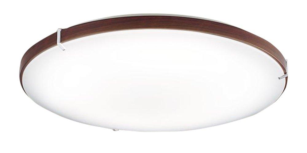 パナソニック Panasonic 照明器具LEDシーリングライト LINK STYLE LED調光・調色タイプ ウォールナット調 リンクスタイル対応LGBX3480【~12畳】