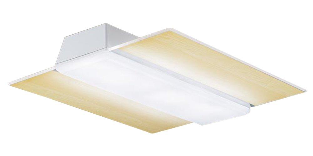 パナソニック Panasonic 照明器具LEDシーリングライト パネルシリーズ AIR PANEL LED調光・調色 角型タイプ 木目調パネルLGBZ4186【~14畳】