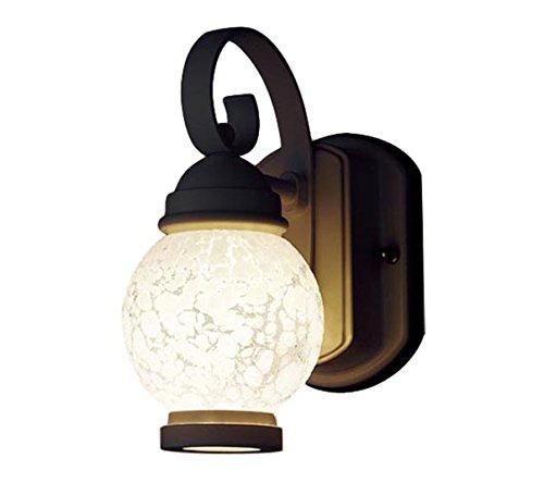 パナソニック Panasonic 照明器具エクステリア コンパクトLEDポーチライト60形電球1灯相当 電球色 防雨型LGW80251LE1