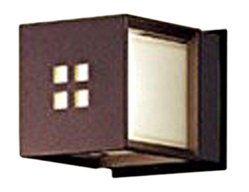 パナソニック Panasonic 照明器具エクステリア LEDポーチライト 電球色40形電球1灯器具相当 密閉型 防雨型LGW85040AK