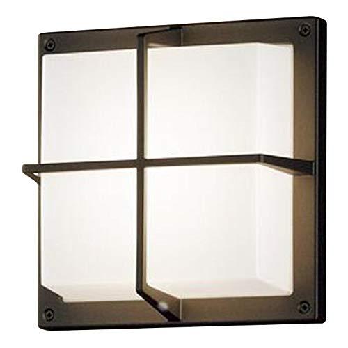 パナソニック Panasonic 照明器具LEDポーチライト 温白色 拡散タイプ密閉型 防雨型 白熱電球60形1灯器具相当LGW85236BCE1
