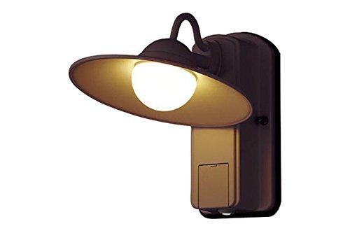 パナソニック Panasonic 照明器具エクステリア FreePaお出迎え ヴィンテージLEDポーチライト60形電球1灯相当 電球色 段調光省エネ型 防雨型LGWC80245LE1