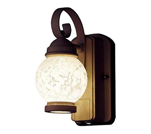 パナソニック Panasonic 照明器具エクステリア FreePaお出迎え コンパクトLEDポーチライト60形電球1灯相当 電球色 段調光省エネ型 防雨型LGWC80250LE1