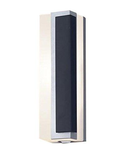 パナソニック Panasonic 照明器具LEDポーチライト 電球色 拡散タイプ 防雨型 右側遮光FreePaお出迎え フラッシュ 段調光省エネ型明るさセンサ付 40形電球相当LGWC81446LE1