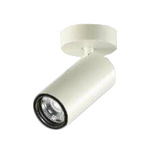 大光電機 施設照明LEDシリンダースポットライト フランジタイプLZ1C 12Vダイクロハロゲン85W形60W相当COBタイプ 13°狭角形 電球色 調光LZS-92543YW