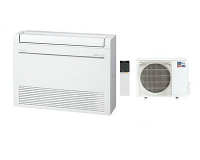 MFZ-HK5017AS (おもに16畳用)三菱電機 ズバ暖霧ヶ峰 床置形 ハウジングエアコン 住宅設備用 取付工事費別途