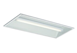 三菱電機 施設照明LEDライトユニット形ベースライト Myシリーズ20形 FHF16形×2灯高出力相当 一般タイプ 連続調光埋込形 300幅 白色MY-B230235/W AHZ