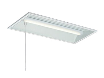 三菱電機 施設照明LEDライトユニット形ベースライト Myシリーズ20形 FHF16形×2灯高出力相当 一般タイプ 段調光埋込形 300幅 白色 プルスイッチ付MY-B230235S/W AHTN