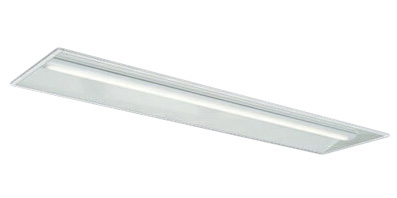三菱電機 施設照明LEDライトユニット形ベースライト Myシリーズ40形 FHF32形×2灯定格出力相当 一般タイプ 段調光埋込形 下面開放タイプ 300幅 白色MY-B450335/W AHTN
