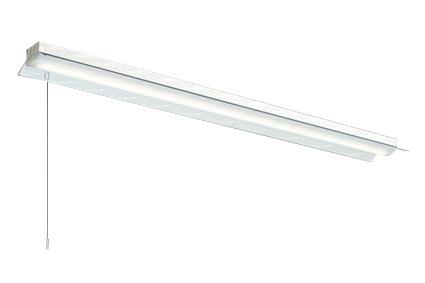 三菱電機 施設照明LEDライトユニット形ベースライト Myシリーズ40形 FHF32形×1灯高出力相当 一般タイプ 段調光直付形 笠付タイプ プルスイッチ付 白色MY-H430330S/W AHTN