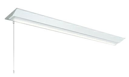 三菱電機 施設照明LEDライトユニット形ベースライト Myシリーズ40形 FLR40形×2灯相当 高演色(Ra95)タイプ 段調光直付形 逆富士タイプ 230幅 白色 プルスイッチ付MY-V440171S/W AHTN
