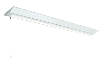 三菱電機 施設照明LEDライトユニット形ベースライト Myシリーズ40形 FHF32形×2灯高出力相当 省電力タイプ 連続調光直付形 逆富士タイプ 230幅 プルスイッチ付 白色MY-V470301S/W AHZ