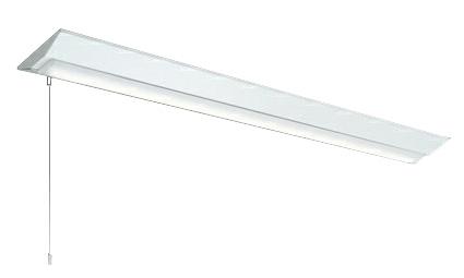 三菱電機 施設照明LEDライトユニット形ベースライト Myシリーズ40形 FHF32形×2灯高出力相当 高演色(Ra95)タイプ 段調光直付形 逆富士タイプ 230幅 プルスイッチ付 昼白色MY-V470371S/N AHTN