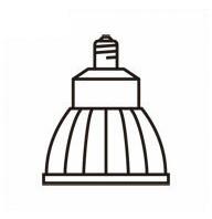 オーデリック ランプLED電球ダイクロハロゲン形 φ70 JDR75Wクラス ミディアム19° 昼白色 調光 ホワイトLDR11N-M-E11/D/WNO259C