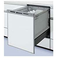 ●パナソニック Panasonic ビルトイン食器洗い乾燥機ディープタイプ V7シリーズ 奥行65cm 幅45cmドアパネル型(シルバー)NP-45VD7S