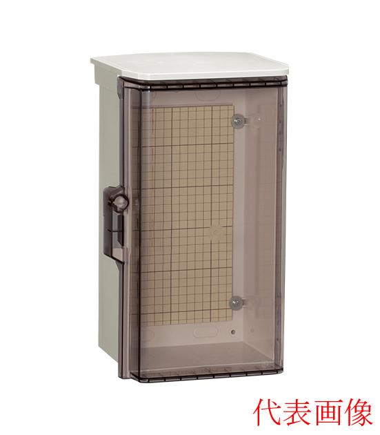 日東工業 プラボックス 汎用タイププラボックス・透明扉付 屋根つき屋外用 OP20-65CA