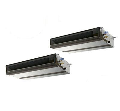 三菱電機 業務用エアコン 天井埋込形スリムZR 同時ツイン112形PEZX-ZRMP112DR(4馬力 三相200V ワイヤレス)