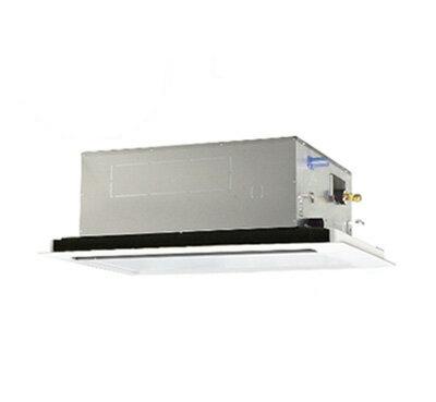 三菱電機 業務用エアコン 2方向天井カセット形スリムER(標準パネル) シングル63形PLZ-ERMP63SLR(2.5馬力 単相200V ワイヤード)