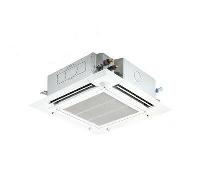三菱電機 業務用エアコン 4方向天井カセット形<ファインパワーカセット>スリムZR(人感ムーブアイセンサーパネル)シングル160形PLZ-ZRMP160EFR(6馬力 三相200V ワイヤード)