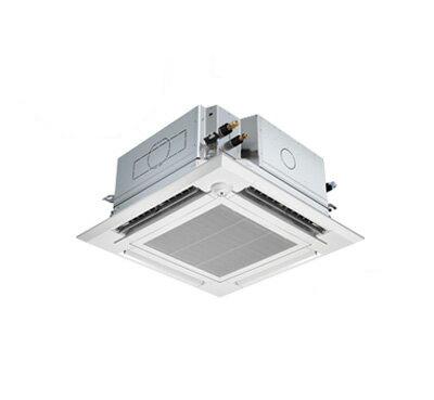 三菱電機 業務用エアコン 4方向天井カセット形<ファインパワーカセット>スリムZR ぐるっとスマート気流(人感ムーブアイ)シングル80形PLZ-ZRMP80SELFGR(3馬力 単相200V ワイヤレス)
