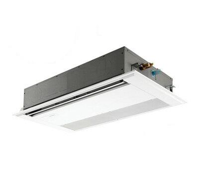 三菱電機 業務用エアコン 1方向天井カセット形スリムZR (標準パネル) シングル45形PMZ-ZRMP45FR(1.8馬力 三相200V ワイヤード)