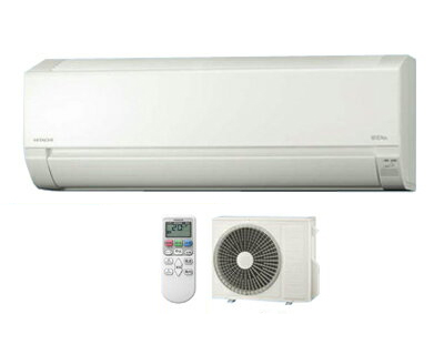 日立 住宅設備用エアコン 白くまくん AJシリーズ(2018)RAS-AJ56H2(W) (おもに18畳用・単相200V・室内電源)