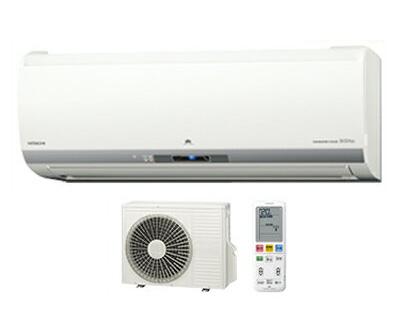 日立 住宅設備用エアコン 白くまくん Eシリーズ(2018)RAS-E36H(W) (おもに12畳用・単相100V・室内電源)