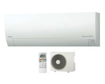 日立 住宅設備用エアコン白くまくん MJシリーズ(2018)RAS-MJ56H2(W)(おもに18畳用・単相200V・室内電源)