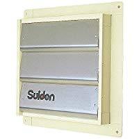 ●スイデン 有圧換気扇オプション品風圧シャッター(1枚入り)SCFS-40