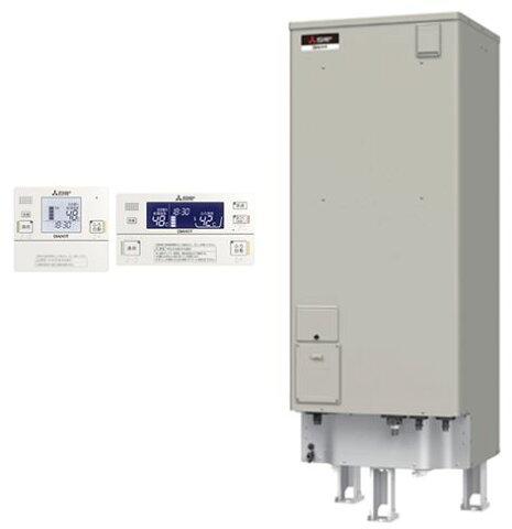 【インターホンリモコン付】三菱電機 電気温水器 370L自動風呂給湯タイプ 高圧力型 フルオートSRT-J37WD5 + RMC-JD5SE