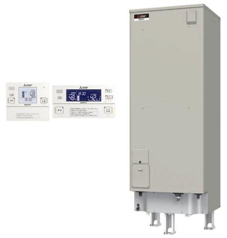 【インターホンリモコン付】三菱電機 電気温水器 550L自動風呂給湯タイプ 高圧力型 エコオートSRT-J55CD5 + RMC-JD5SE