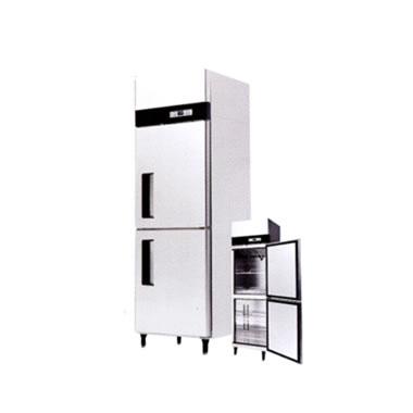 ●シェルパ 業務用 タテ型2室 冷凍庫 SSFIシリーズ内容量:冷蔵361L 省エネインバータ搭載SSFI-665