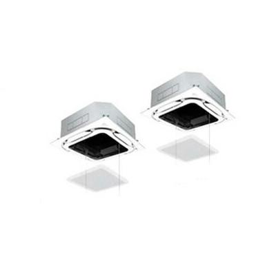 ダイキン 業務用エアコン FIVESTAR ZEAS天井埋込カセット形S-ラウンドフローエコオートグリルパネル <センシング> 同時ツイン112形SSRC112BCD(4馬力 三相200V ワイヤード)■分岐管(別梱包)含む