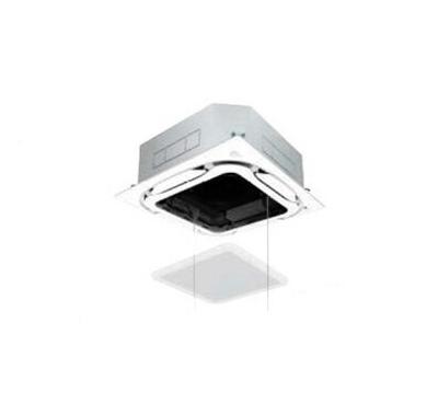 ダイキン 業務用エアコン FIVESTAR ZEAS天井埋込カセット形S-ラウンドフローエコオートグリルパネル <センシング> シングル160形SSRC160BC(6馬力 三相200V ワイヤード)