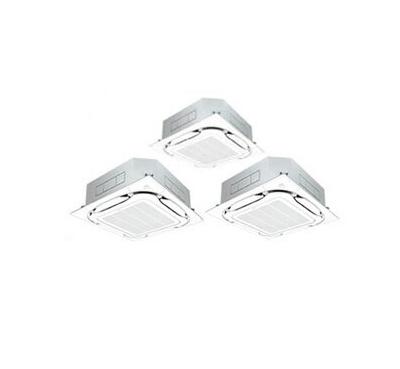 ダイキン 業務用エアコン FIVESTAR ZEAS天井埋込カセット形S-ラウンドフロー<センシング>タイプ 同時トリプル160形SSRC160BCM(6馬力 三相200V ワイヤード)■分岐管(別梱包)含む